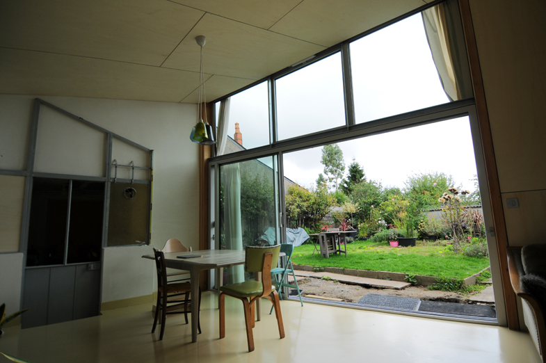 Bf extension frank gerno architecte for Extension 30m2